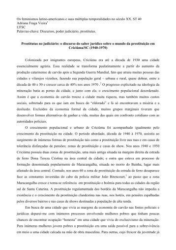 Os feminismos latino-americanos e suas múltiplas ... - UFSC