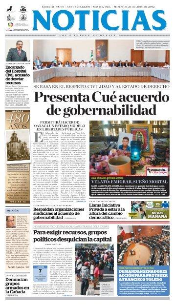 Velató - Noticias Voz e Imagen de Oaxaca