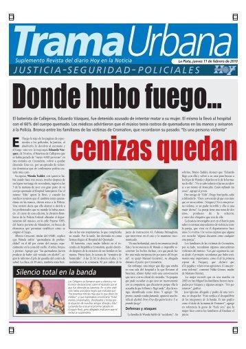 JUSTICIA-SEGURIDAD-POLICIALES - Diario Hoy