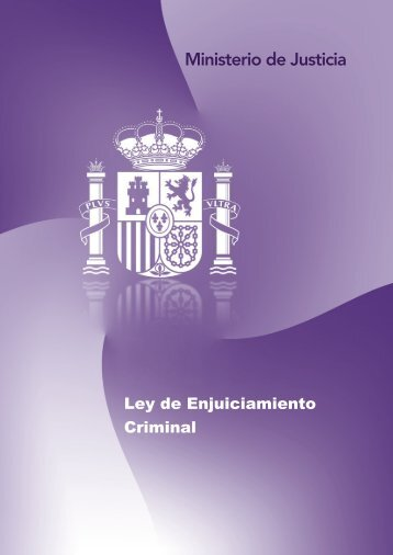 Ley de Enjuiciamiento Criminal - SPJ-USO Galicia