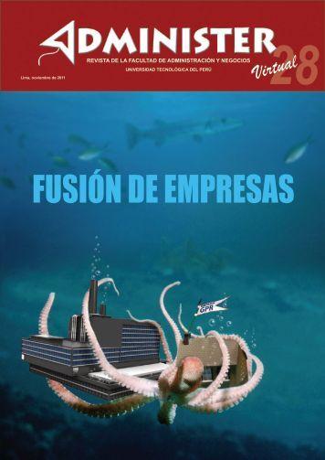 FUSIÓN DE EMPRESAS - UTP