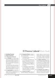 VI El Proceso Laboral (Parte final) - Revista Actualidad Empresarial