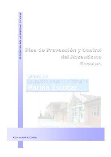 Plan Absentismo último - CEIP Marina Escobar - Junta de Castilla y ...