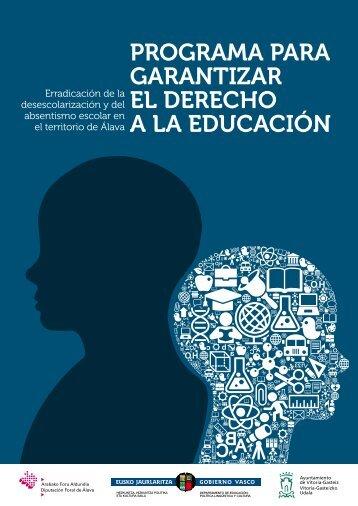programa para garantizar el derecho a la educación - Ayuntamiento ...