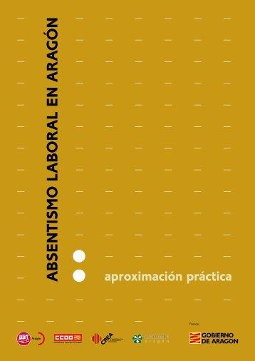 Absentismo laboral en Aragón: aproximación práctica - Gobierno de ...