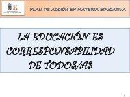 Presentación Proyecto de Reinserción Educativa a través del