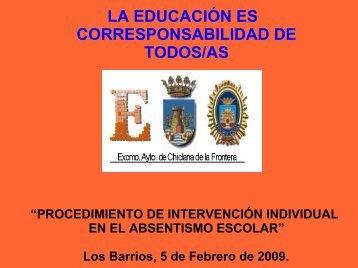 Presentación Programa Absentismo Escolar - Ayuntamiento de ...