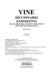Diccionario Expositivo De Palabras Del Antiguo Y ... - Romanos: 16