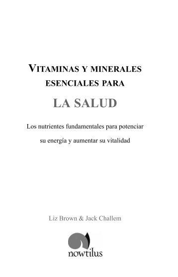 VITAMINAS Y MINERALES.qxp - Ediciones Nowtilus