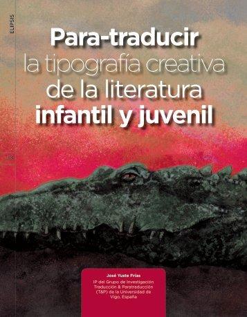 Para-traducir la tipografía creativa de la literatura infantil y juvenil
