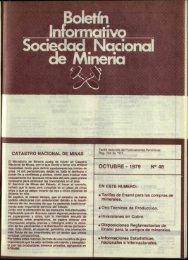 OCTUBRE - 1979 ~aciones - Sonami