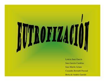 Eutrofización - Ciencias Agrícolas