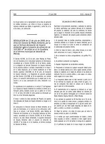 RESOLUCION de 12 de julio de 2000, de la Dirección General de ...