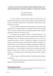 LA CIENCIA FICCIÓN EN EL MUNDO ÁRABE: APROXIMACIÓN A ...