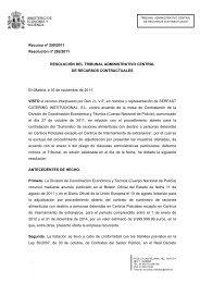 Recurso nº 139/2011 - Ministerio de Hacienda y Administraciones ...