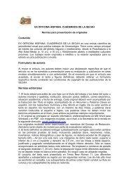Normas de publicación - Ex Officina Hispana