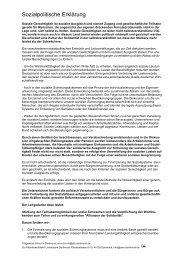 Sozialpolitische Erklärung des - Arbeitslosenzentrum Dortmund ev