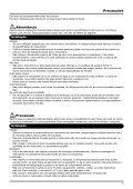 Importante - verifique a voltagem - Certifique-se de que ... - Yamaha - Page 3