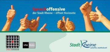 Sprachoffensive - Rheine