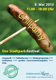 Grillparty 2013 - das Programm - Rheine