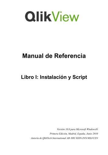 QlikView Manual de Referencia