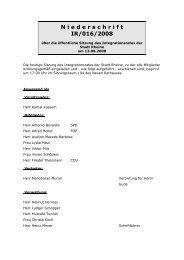 N i e d e r s c h r i f t  IR/016/2008 - Rheine