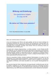 Vortrag Porf. Dr. Klaus Niederdrenk, Rektor der ... - Rheine
