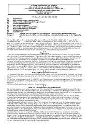Erhebung von Elternbeiträgen - Rheine
