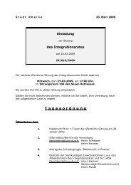 Einladung 18 - Rheine