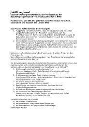 Jobfit regional - Arbeitslosenzentrum Dortmund ev