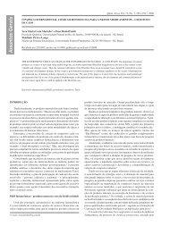 O papel governamental como ator essencial para a ... - Química Nova