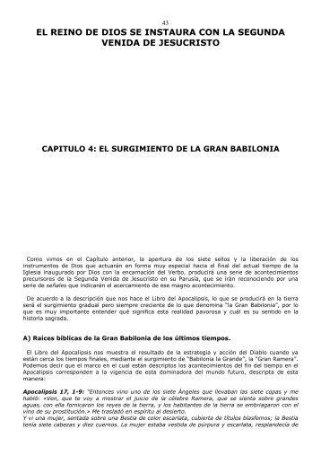 Descarga aquí el Capítulo 4 en pdf para imprimir - El Reino de Dios ...