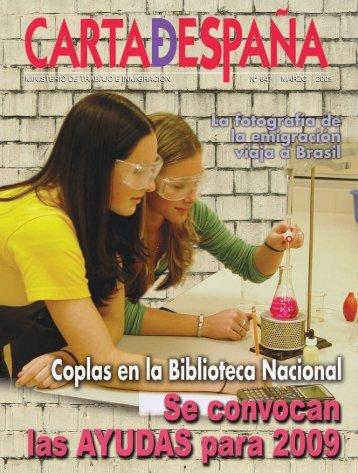 ministerio de trabajo e inmigración nº 647 marzo 2009 - Ciudadanía ...