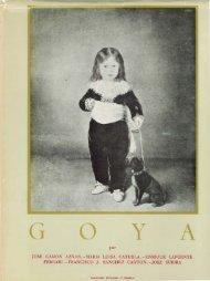 Goya : (cinco estudios)