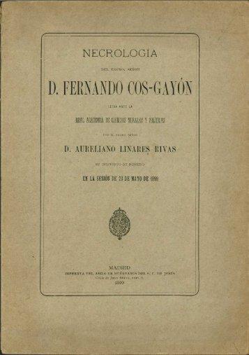 D. FERNANDO COS-GAYÚN - Sol-Torres