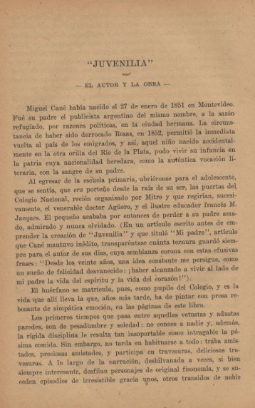 """""""JUVENILIA"""" - Repositorio Institucional del Ministerio de Educación ..."""