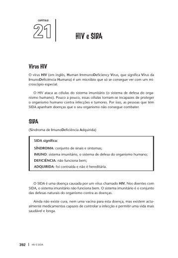 Capítulo 21 HIV e SIDA