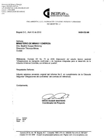2 - Ministerio de Minas y Energía