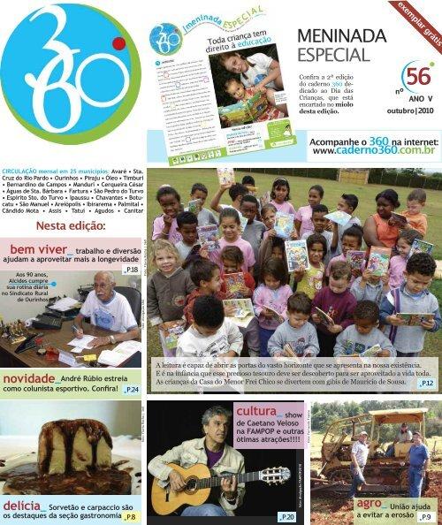 MENINADA ESPECIAL - Caderno 360