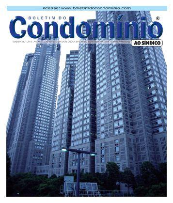 162 - 2013 - Boletim do Condomínio