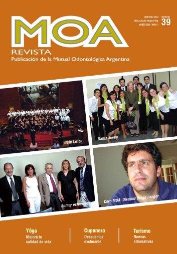revista 39 - Mutual Odontológica Argentina