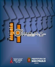 Projeto Homens Livreto - Programa Municipal de DST/Aids