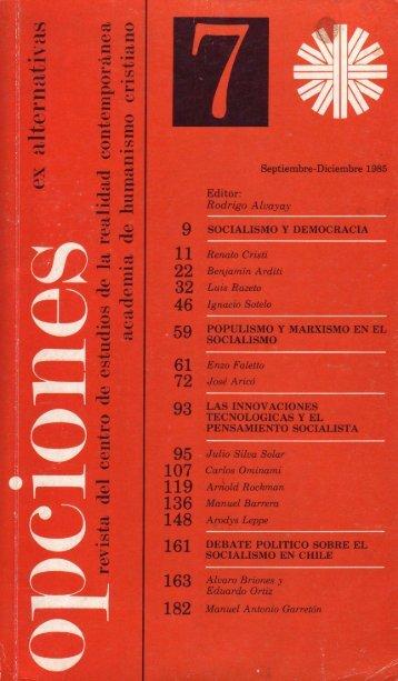 Opciones 7 - Salvador Allende