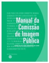 Manual da Comissão de Imagem Pública - Rotary International