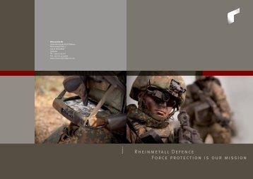Rheinmetall Defence Unternehmensbroschüre