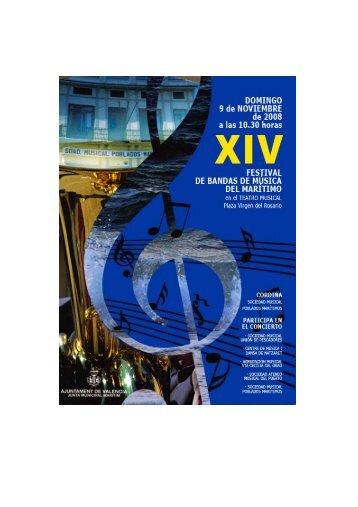 """centre de musica i dansa de natzaret - """"Sociedad Musical"""" Poblados ..."""
