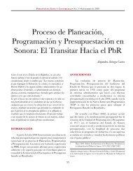 Proceso de Planeación, Programación y Presupuestación ... - Cepal