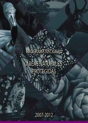 Programa Nacional 2007-2010 - Comisión Nacional de Áreas ...