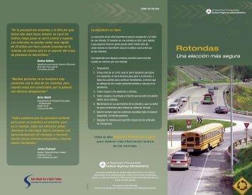 Rotondas - FHWA Safety Program - Department of Transportation