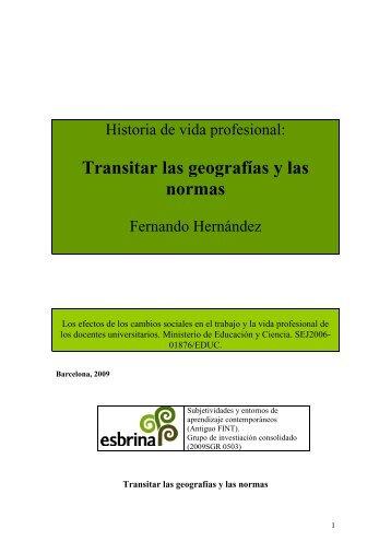 La historia de la profesora de la Universidad de Huelva - CECACE